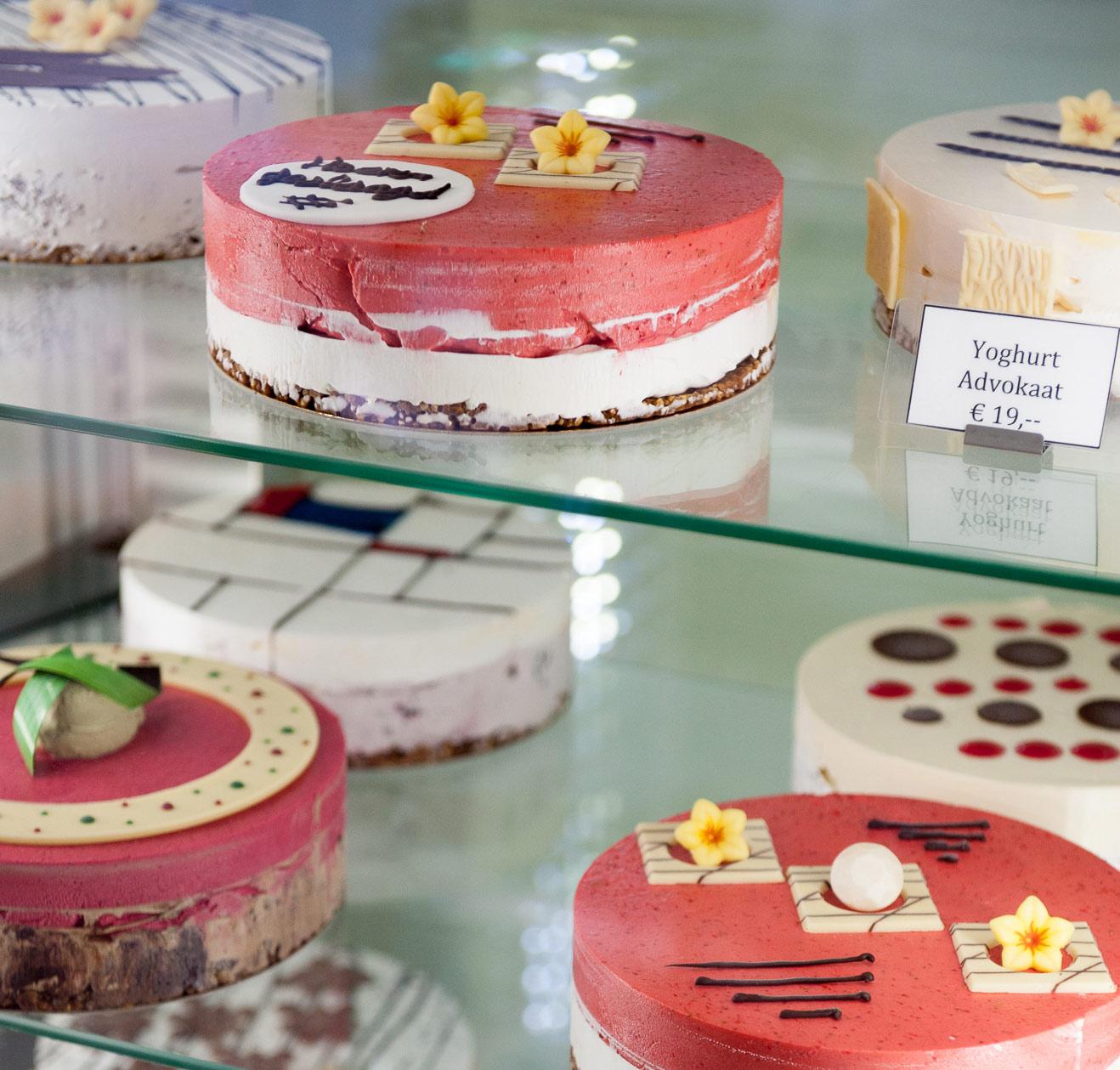 ijstaarten - taarten voor iets lekkers bij LKKR ijssalon